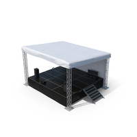 Outdoor Concert Stage PNG & PSD Images