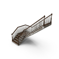 Dirty Residential Staircase PNG & PSD Images