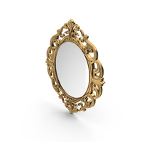 Baroque Mirror PNG & PSD Images