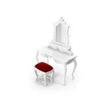 Fabulous & Baroque Vanity PNG & PSD Images