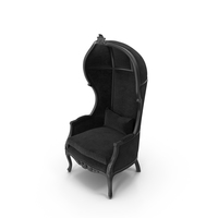 Black Balloon Chair PNG & PSD Images