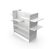 Slat Wall Shelves PNG & PSD Images