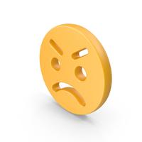 Anger Emoji PNG & PSD Images