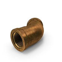 Vintage Brass Pipe PNG & PSD Images