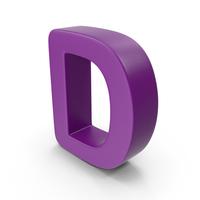 Purple Letter D PNG & PSD Images