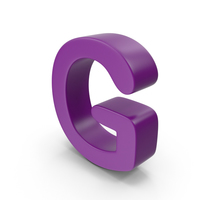 Purple Letter G PNG & PSD Images