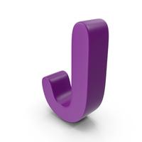 Purple Letter J PNG & PSD Images