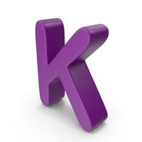Purple Letter K PNG & PSD Images