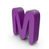 Purple Letter M PNG & PSD Images