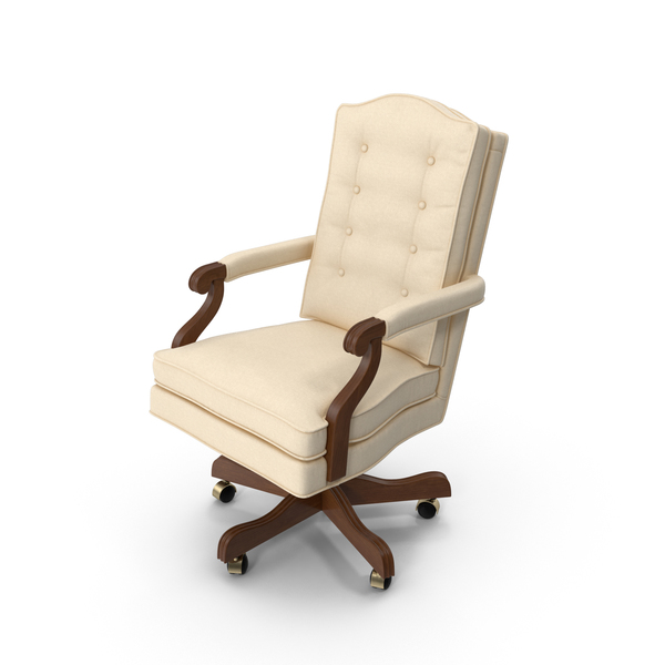 Traditional Office Chair PNG & PSD Images