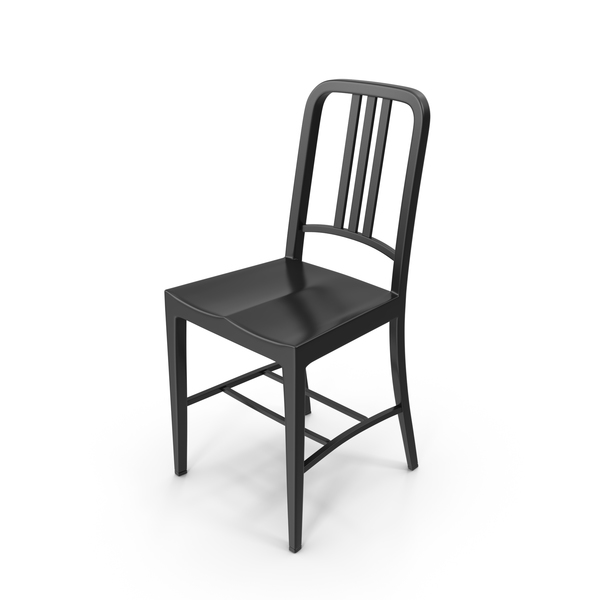 Black Dining Chair PNG & PSD Images