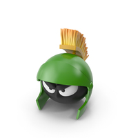 Marvin Martian Head PNG & PSD Images