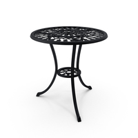 Cast Iron Dining Table PNG & PSD Images