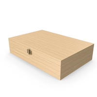 Closed Wooden Box PNG & PSD Images