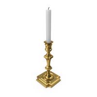 Golden Candle Holder Eichholtz Swan PNG & PSD Images