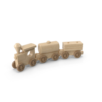 Wooden Toy Train PNG & PSD Images