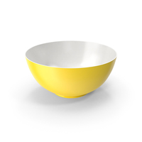 Bowl Yellow PNG & PSD Images