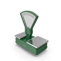 Green Vintage Scale PNG & PSD Images