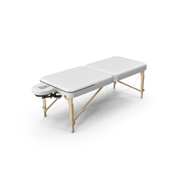 White Massage Table PNG & PSD Images