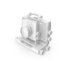 Monochrome Vintage TFC617 Professional Camera PNG & PSD Images