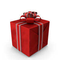 Red Gift Box PNG & PSD Images