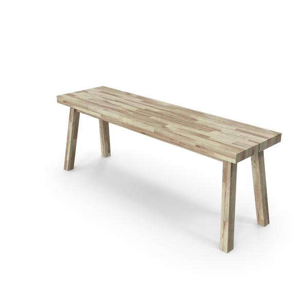Scandinavian Bench PNG & PSD Images