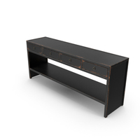 Traditional Console Table PNG & PSD Images