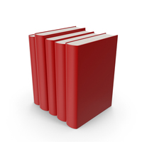 Red Book Set PNG & PSD Images