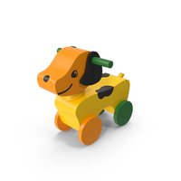 Wooden Dog Riding Toy PNG & PSD Images
