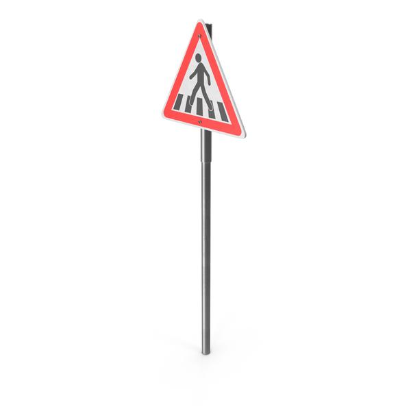 Crosswalk Sign PNG & PSD Images