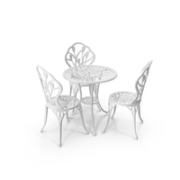 Cast Iron Patio Furniture PNG & PSD Images