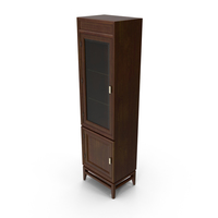 Classical Display Cabinet PNG & PSD Images
