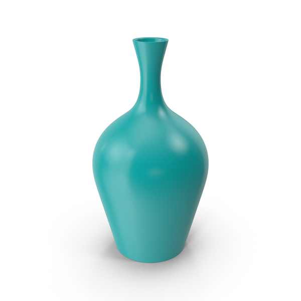 Turquoise Vase PNG & PSD Images