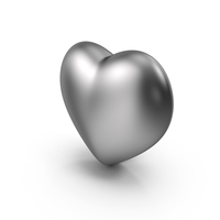 Silver Heart PNG & PSD Images