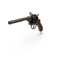 Old Revolver PNG & PSD Images