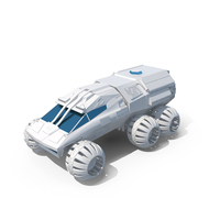 NASA White Mars Rover PNG & PSD Images
