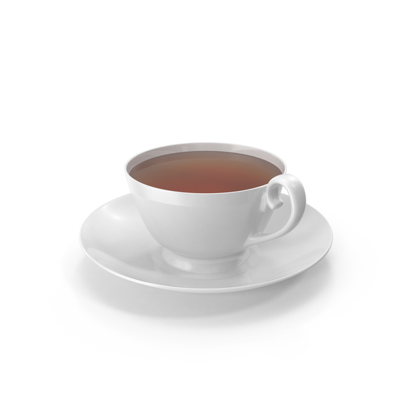 Tea Cup and Saucer PNG & PSD Images