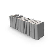Grey Books Collection PNG & PSD Images