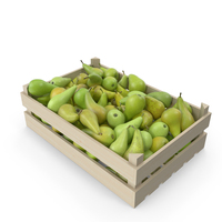 Concorde Pear Crate PNG & PSD Images