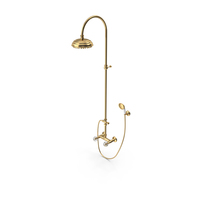 Bathroom Classical Style Shower System PNG & PSD Images