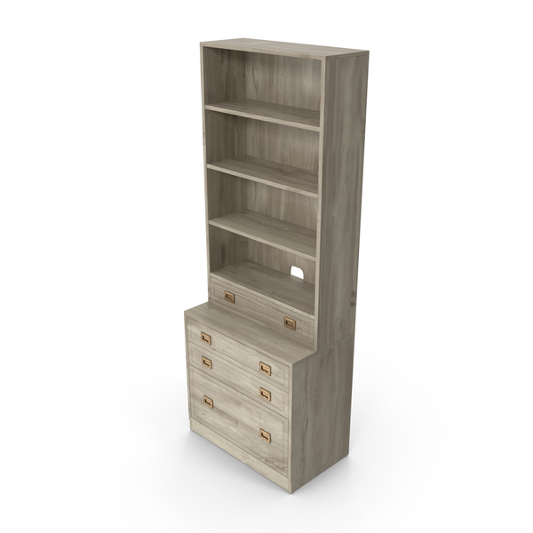 Traditional Bookcase PNG & PSD Images