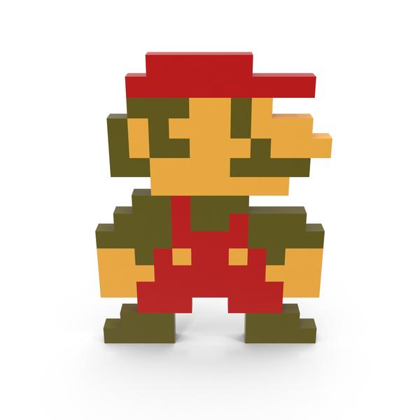 8-Bit Mario PNG & PSD Images