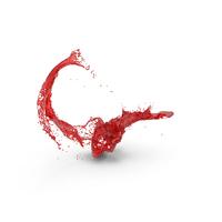 Red Splatter PNG & PSD Images