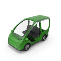 Green Electric Car PNG & PSD Images