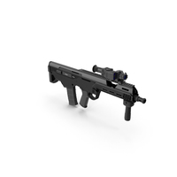 MSBS Combat Rifle PNG & PSD Images
