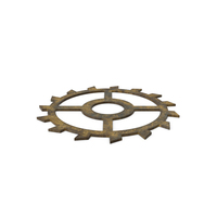Clock Gear Dirty PNG & PSD Images