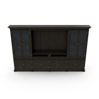 Transitional Display Cabinets PNG & PSD Images