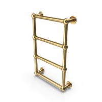 Golden Towel Heater PNG & PSD Images