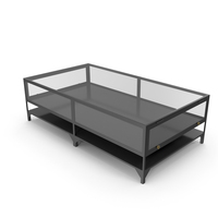 Mid-Century Modern Coffee Table PNG & PSD Images