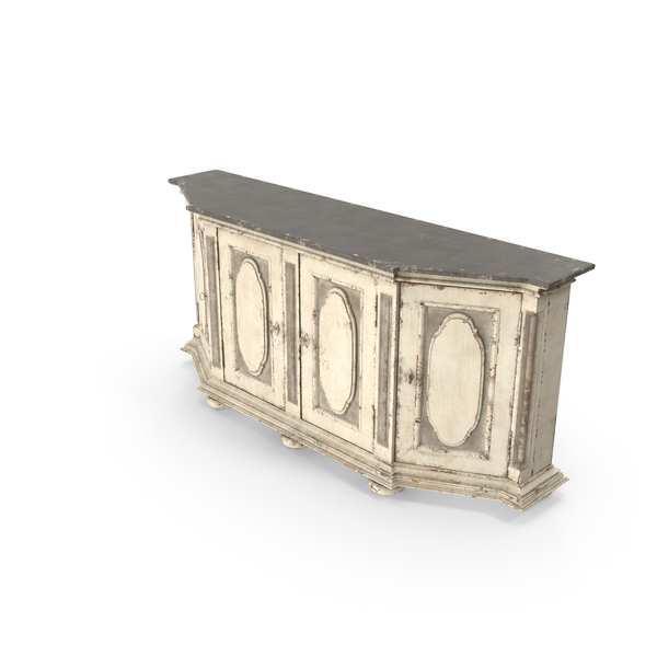 Transitional Credenza PNG & PSD Images
